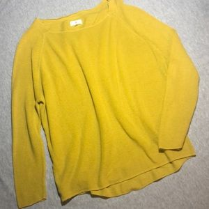 Lou & Grey Mustard Sweater